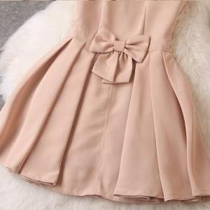 Fashion Bow Sleeveless Dress MG818C..